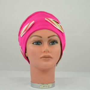 bonnet turban idéal pour la perte de cheveux dut au traitement de chimiothérapie ou radiothérapie