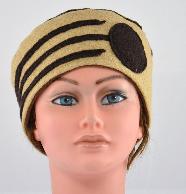 bonnet-beige-marron-hiver-femme