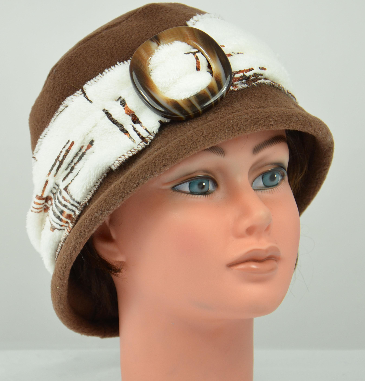 chapeau polaire boucle ceinture doudou hiver femme elegant