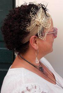headband elegant papillon