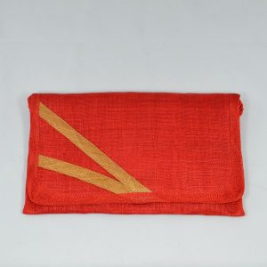 pochette-rouge-sisal-mariage-cérémonie-fabrication-française