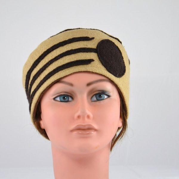 bonnet-beige-marron-laine-bouilli-hiver-femme
