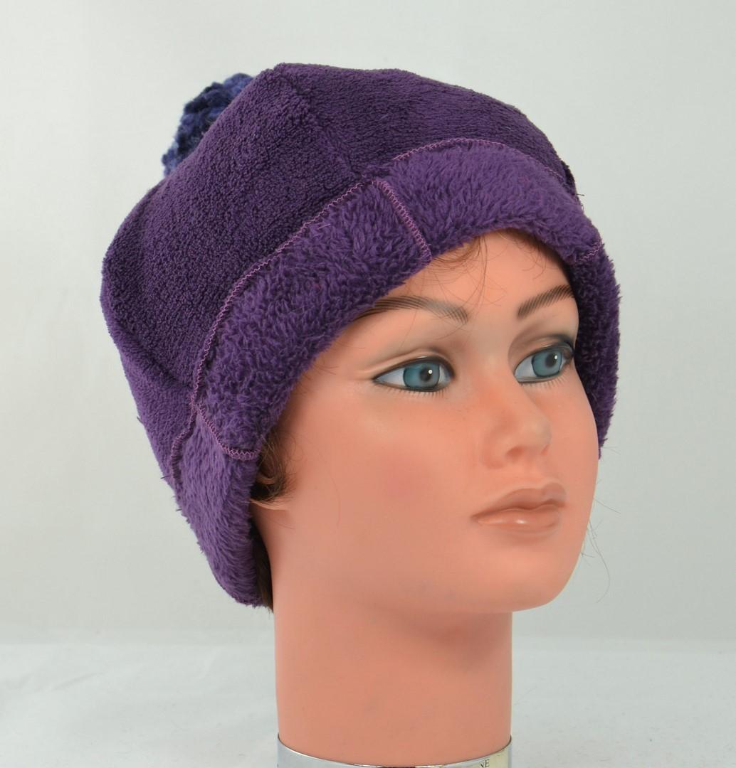 -beau-bonnet-pompon-doudou-violet-ado-femme