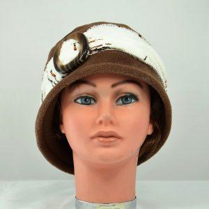 chapeau polaire chaud confortable hiver femme boucle ceinture